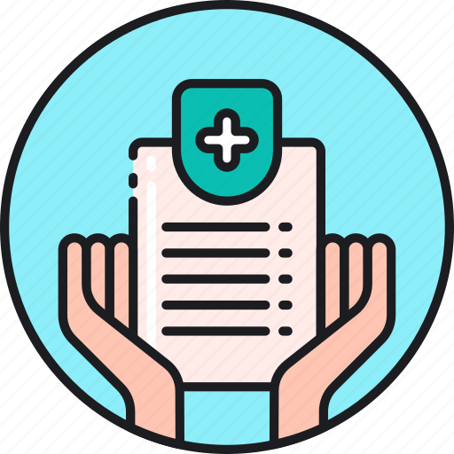 card, coverage, expenses, health, healthcare, insurance, medical icon