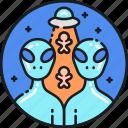 alien, extraterrestrial, invasive, saucer, spacecraft, spaceship, ufo icon