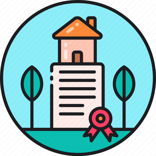 estate, home, house, land, ownership, property, real estate icon