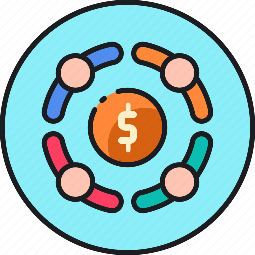 business, collaboration, cooperation, financial, money, partnership, partnerships icon