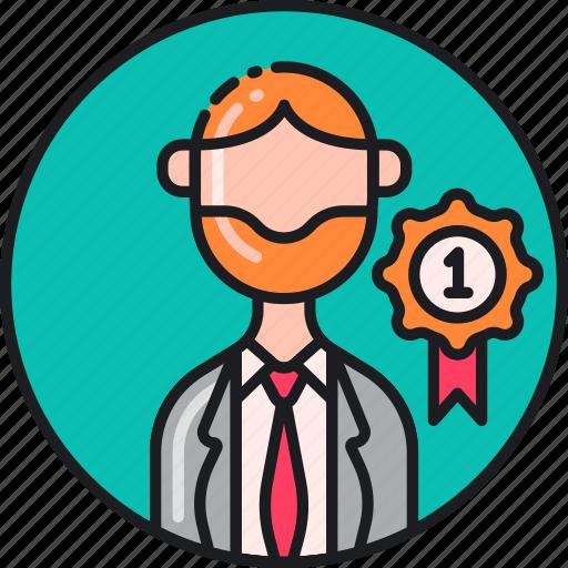 certified, expert, professional, professor, qualified, teacher, tutor icon