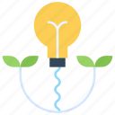 bulb, ecology, electricity, energy, green, nature