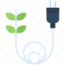 ecology, electrical, energy, green, plug, power, supply