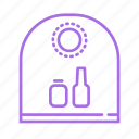 bin, environment, glass, recyclable, recycle, throw, waste icon