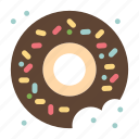 donut, food, sweets icon