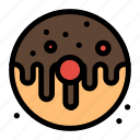 dessert, donut, doughnut, food, sweet icon