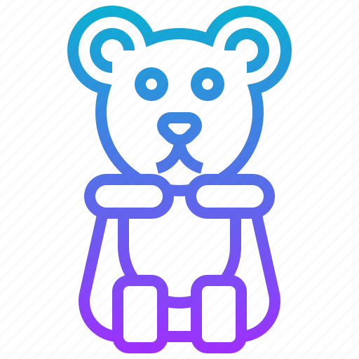 bear, candy, dessert, jelly, sweet, toffy icon