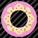 candy, dessert, donut, food, lollies, sugar, sweet icon