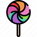 candy, lollipop, lolly icon