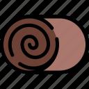 cinnamon, food, roll, sweet icon