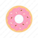 bakery, dessert, donut, sweet