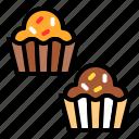 cake, cupcake, dessert, sugar, sweet, sweets