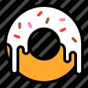 dessert, donut, doughnut, sugar, sweet, sweets
