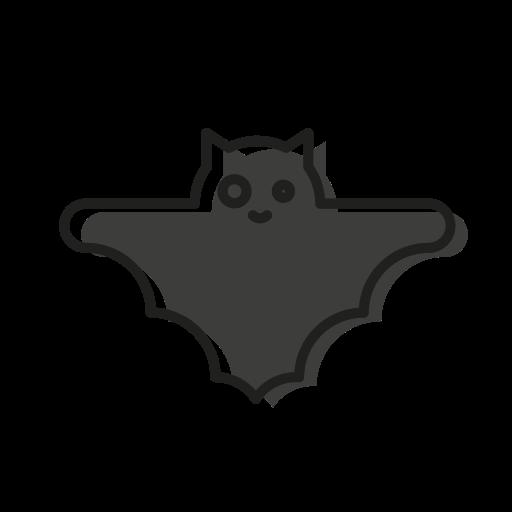 bat, cute, dead, halloween, scary, sweet, vampire icon