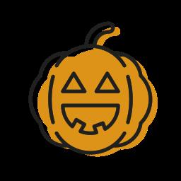 cute, dead, halloween, pumpkin, scary, smile, sweet icon