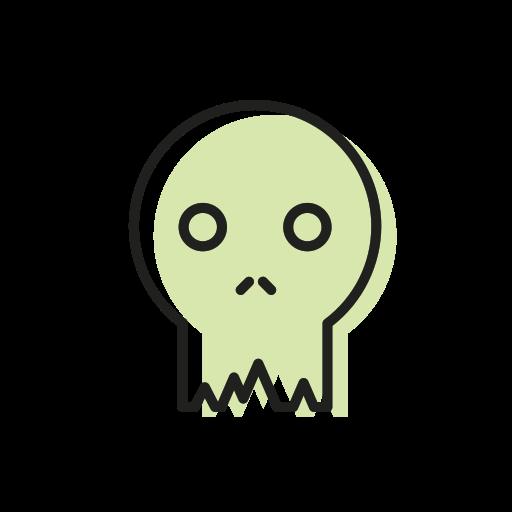 bone, dead, halloween, scary, skeleton, skull, sweet icon
