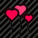 celebration, gift, heart, love, romance, romantic, valentine