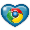 chrome, media, social icon