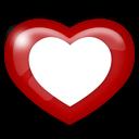 heart, media, social icon