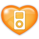 ipod, media, mp3, music, player, social icon