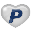media, paypal, social icon