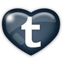 media, social, tumber icon