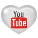media, social, youtube icon