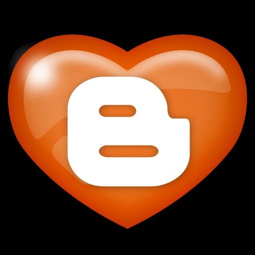 blogger, media, social icon
