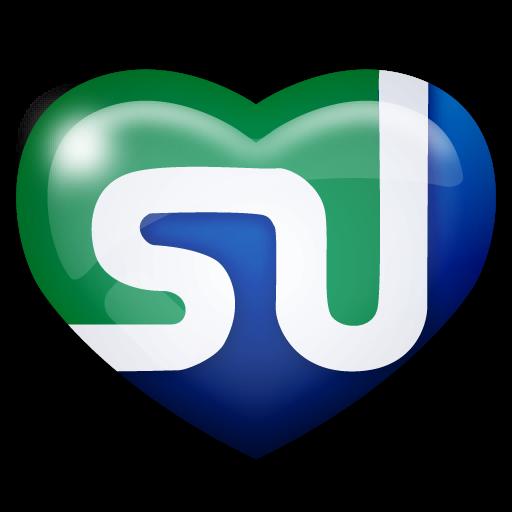 media, social, stumbleupon icon