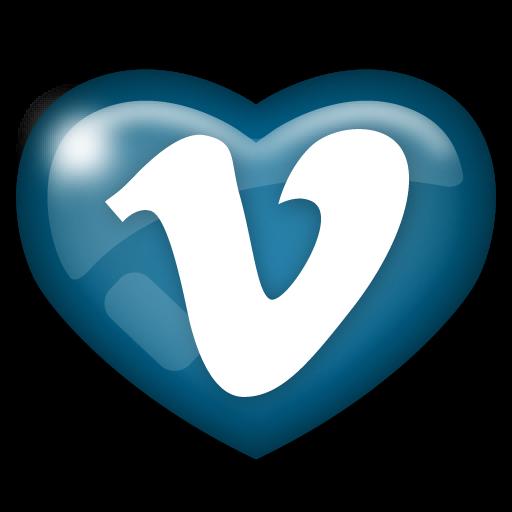 media, social, vimeo icon