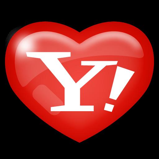 media, social, yahoo icon