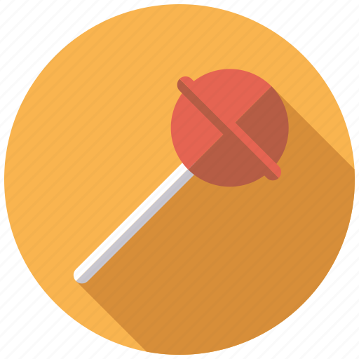 candy, cherry, hard candy, lollipop, stick, sweets icon