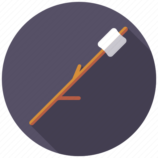 candy, marshmallow, stick, sweets icon