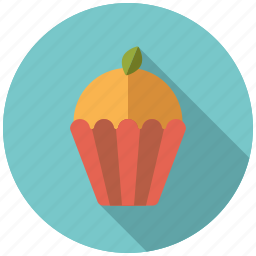 cake, cupcake, pastry, sweets icon