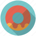 cake, chocolate, donut, doughnut, icing, pastry, sweets icon