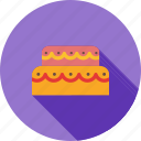 birthday, cake, chocolate, cream, dessert, food, mouse icon