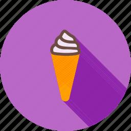 cold, cone, cream, food, ice, scoop, summer icon