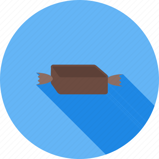 brown, candy, caramel, chocolate, food, toffee, vanilla icon
