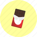 bar, chocolate, dessert, kitkat, postre icon
