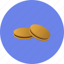 cookies, dessert, food, kitchen, sweet icon