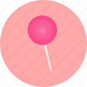 candy, espiral, lollipop, spiral, sweet, sweets icon