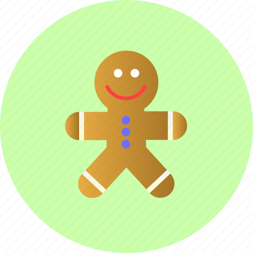 cookie, galleta, gingerbread, sweet icon