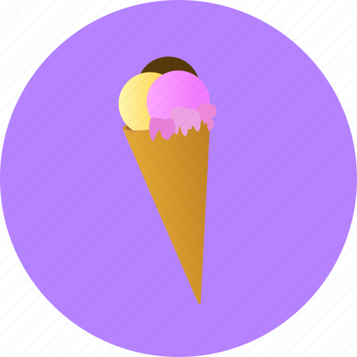 dessert, food, ice, icecream, sweet icon