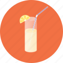 citrus, cocktail, drink, glass, juice, lemon, lime icon