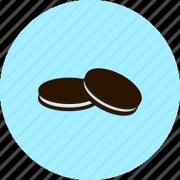 chocolate, christmas, cookie, oreos icon