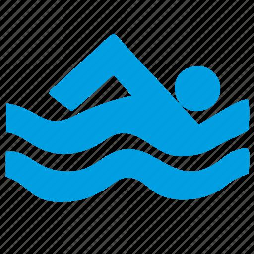 swim, swimming icon
