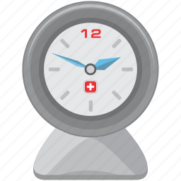 alarm, clock, swiss, time, timepiece, timer, watch icon