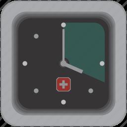 clock, swiss, switzerland, time, timer, watch icon