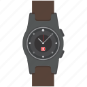 clock, fashion, swiss, time, timepiece, watch, wristwatch icon