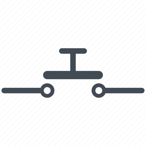 circuit, diagram, electric, electronic, open pushbutton, pushbutton icon